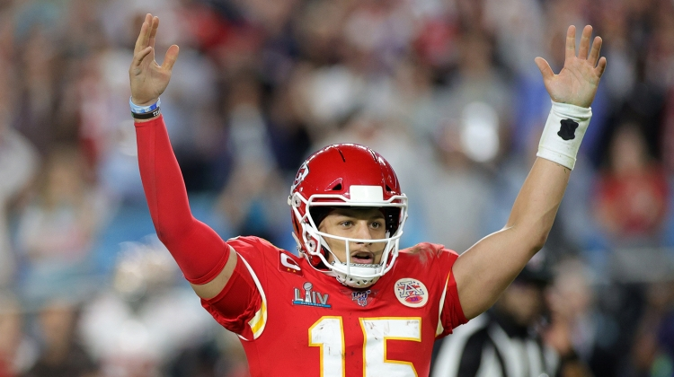 patrick mahomes super bowl GETTY 2020, Rob Carr/Getty Images