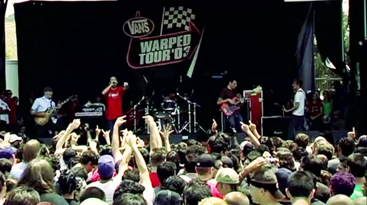 glassjaw warped video still