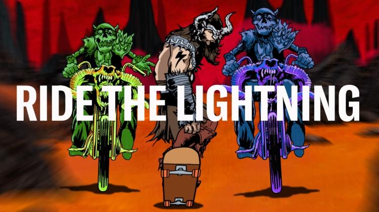 ride the lightning series card