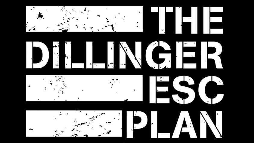 dillinger escape plan flag logo