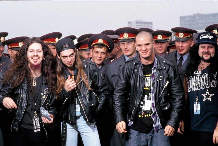 pantera in russia see amazing photos from iconic 1991 monsters of