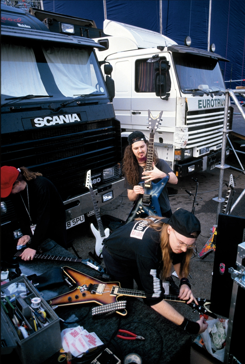 pantera 1991 Joe Giron, Joe Giron