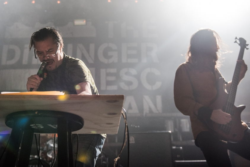 dillinger escape plan mike patton show 1, Stephen Odom