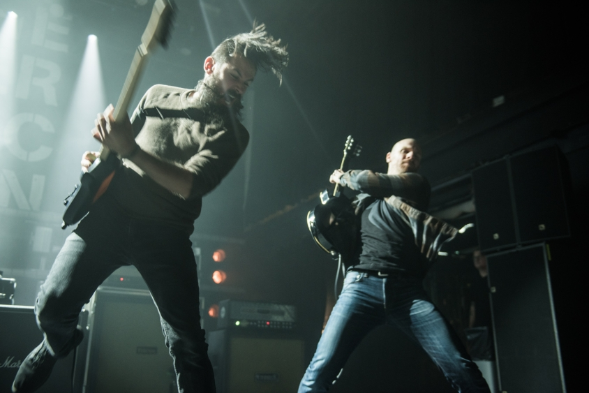 dillinger escape plan show 1, Stephen Odom