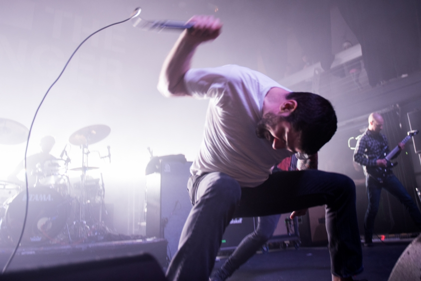 dillinger escape plan show 2, Stephen Odom