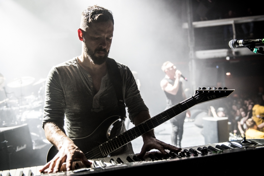 dillinger escape plan show 3, Stephen Odom