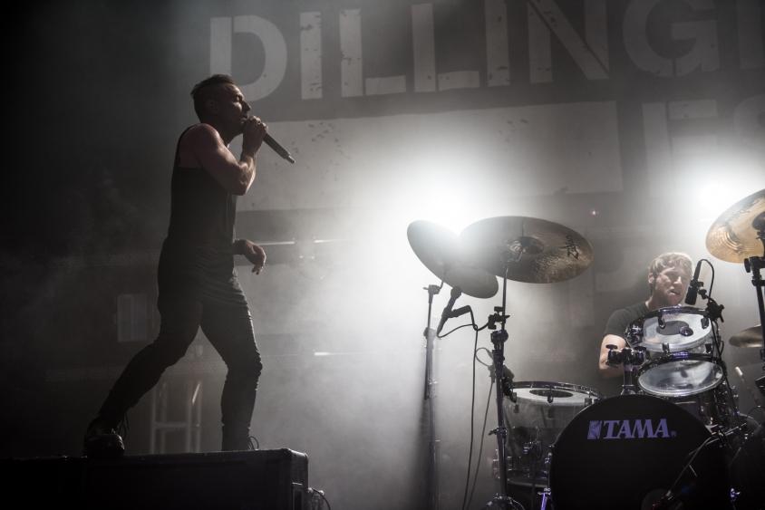 dillinger escape plan show 3, Stephen Odom