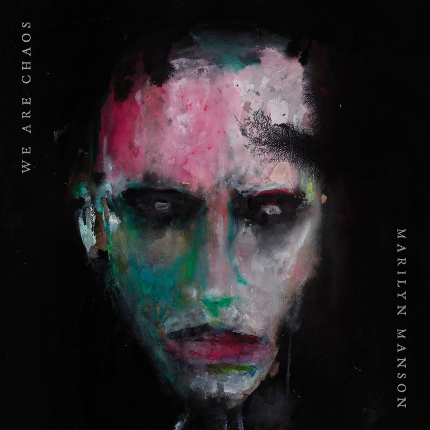 marilyn manson we are chaos cover art