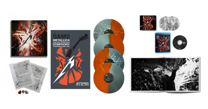 metallica S&M2 deluxe edition product shot