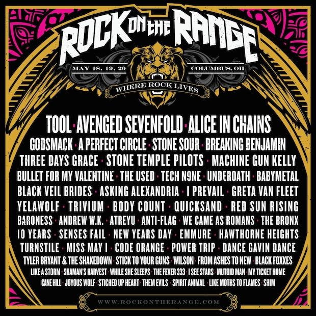 Rock on the Range Poster