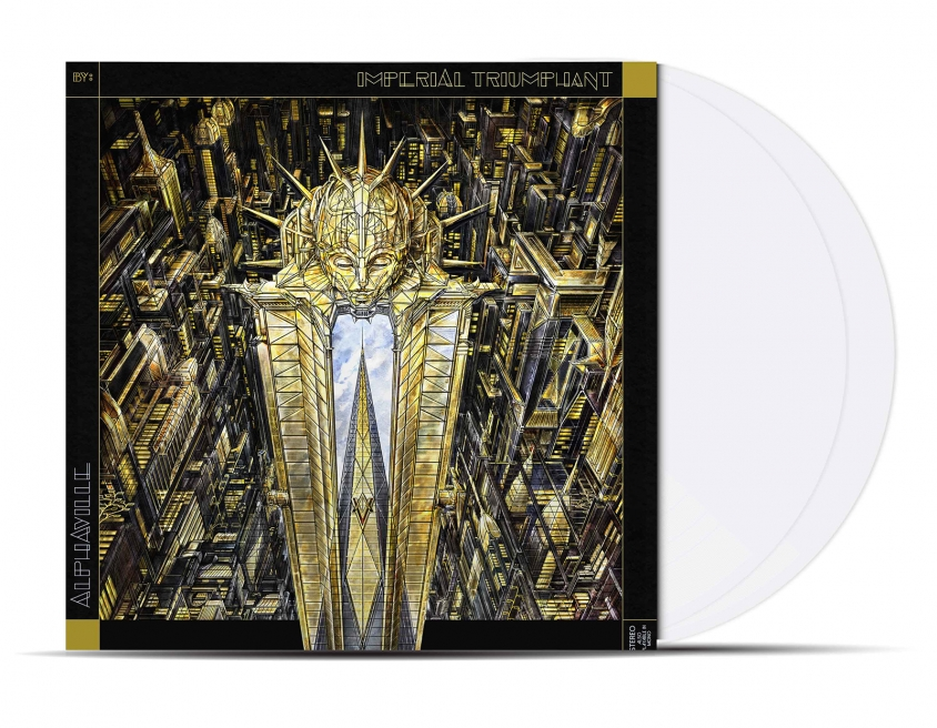 imperial triumphant alphaville white vinyl product shot