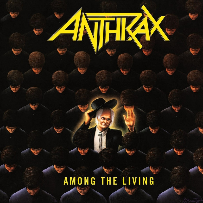 anthrax among the living album art
