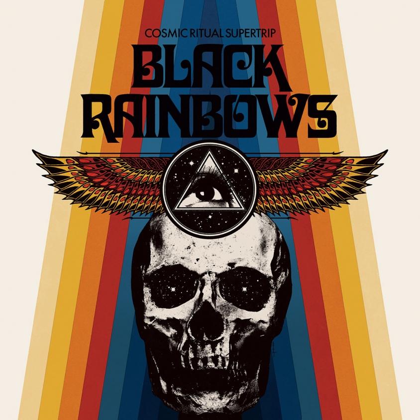 black rainbows album cover