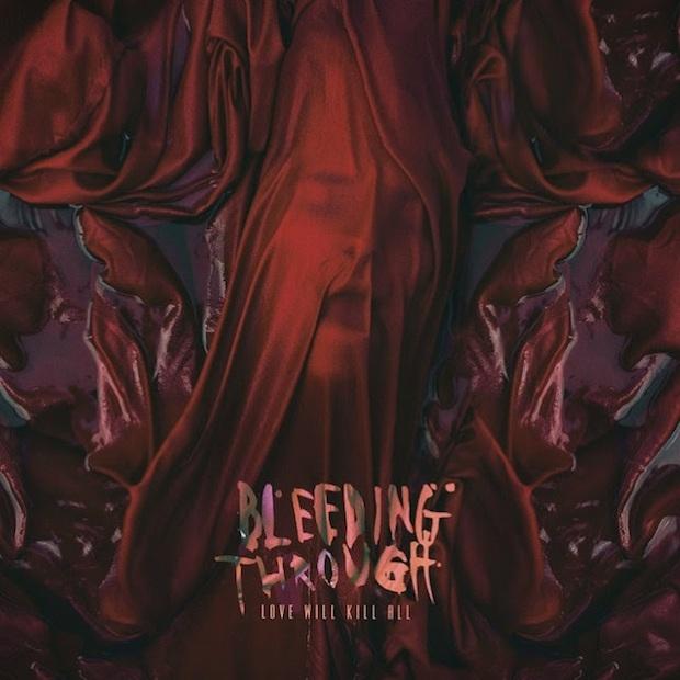 Bleeding through artwork