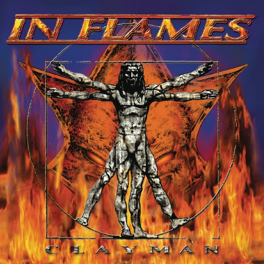 in flames clayman original cover art