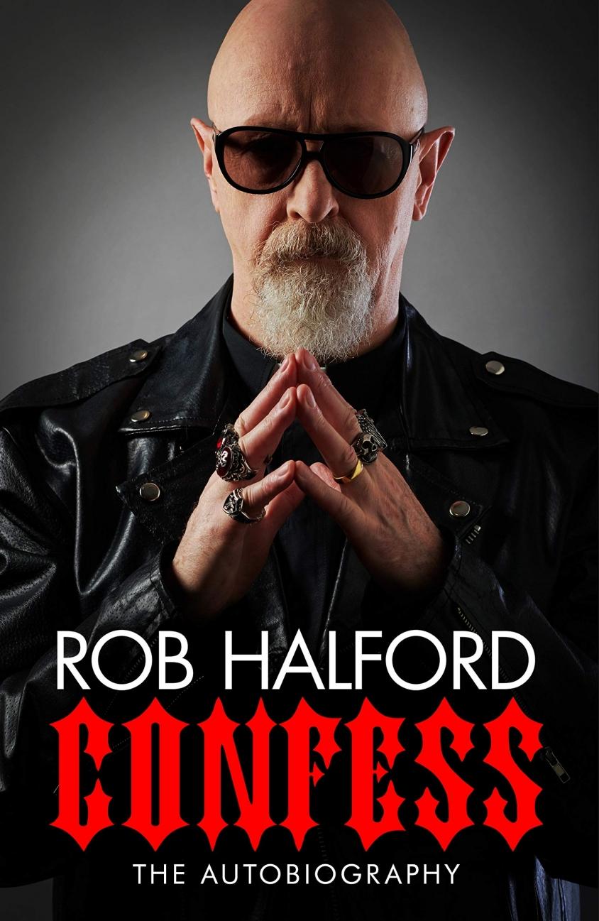 rob halford confess cover book