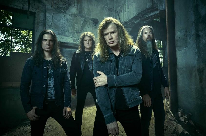 Megadeth 2017 baehler, Chapman Baehler