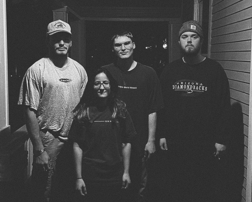 Cursetheknife Band Press Photo 2021, New Morality Zine