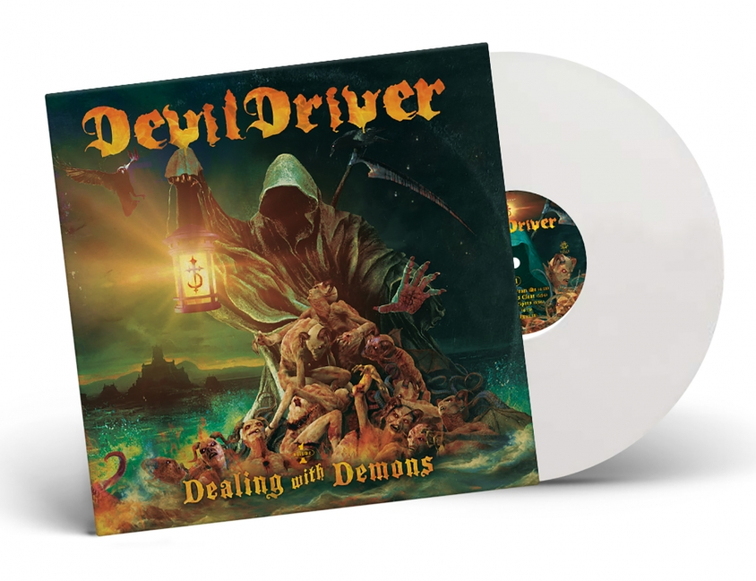 devildriver white vinyl dealing with demons I