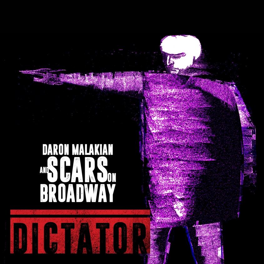 scars on broadway dictator album art