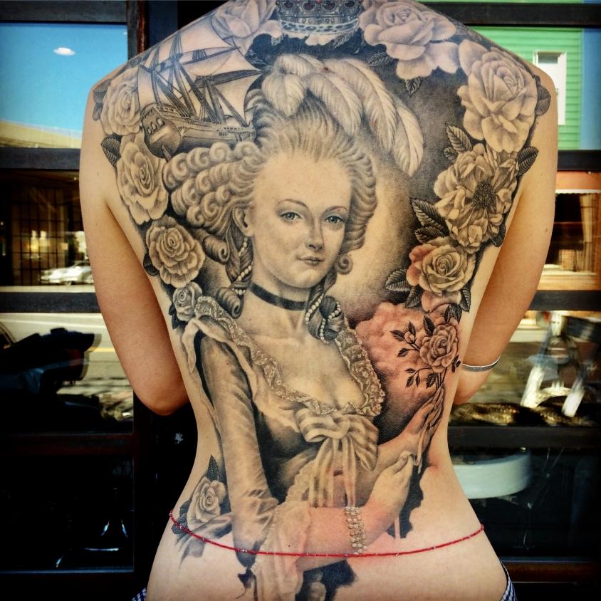 Marie Antoinette josh lord tattoo, Josh Lord