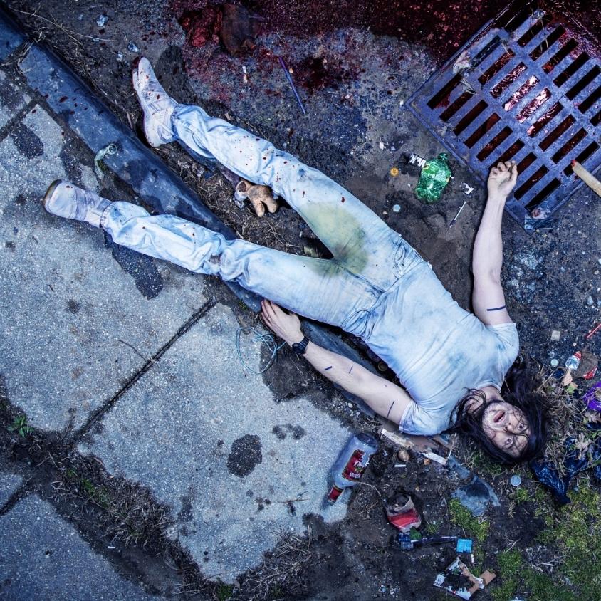 Andrew W.K. God Is Partying Album Art