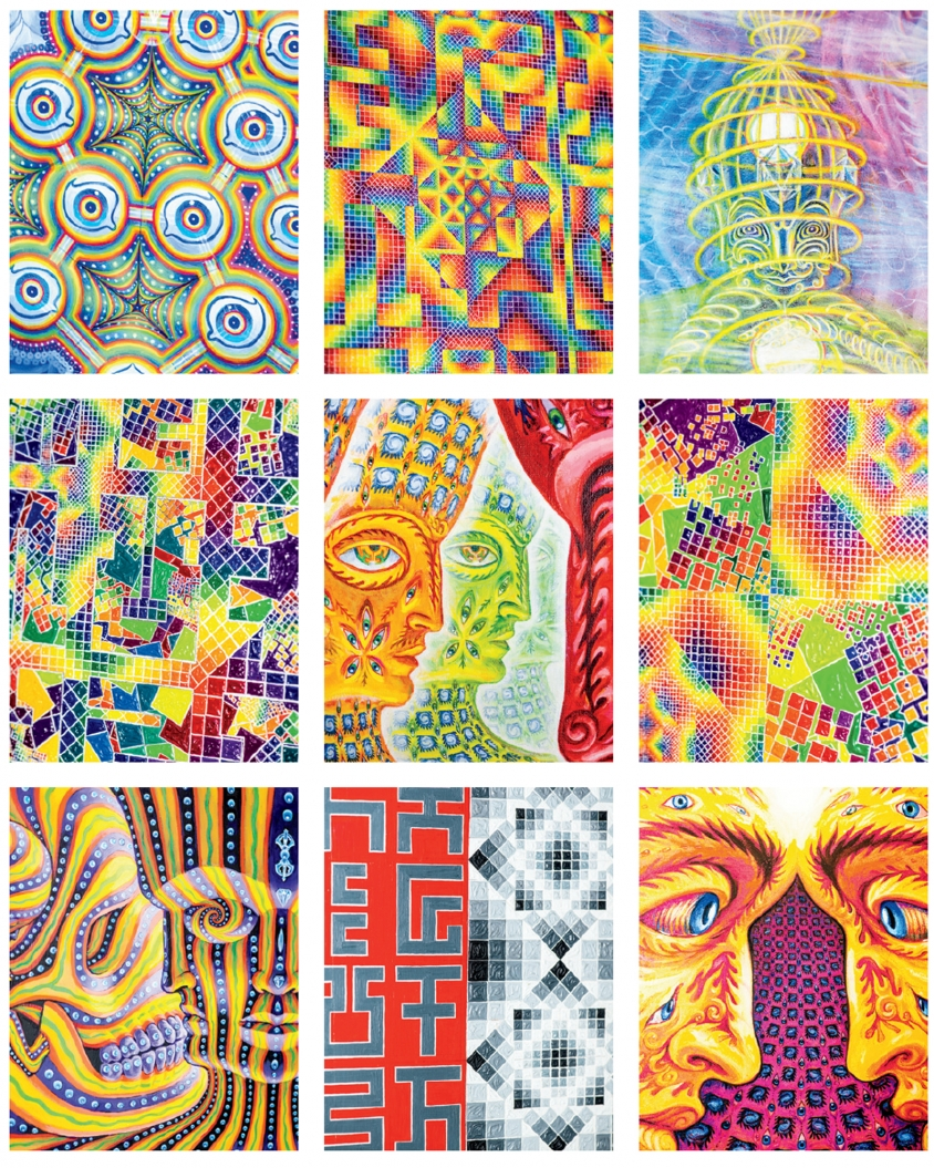 Visionary Art Psychedelics Tool The Mystical Life Of Alex And