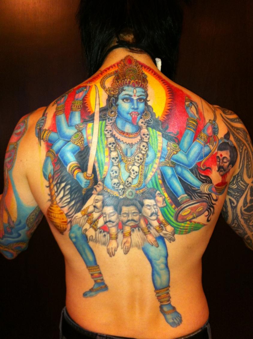back piece tattoo josh lord, Josh Lord
