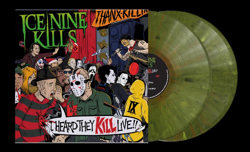 ice nine kills live album vinyl