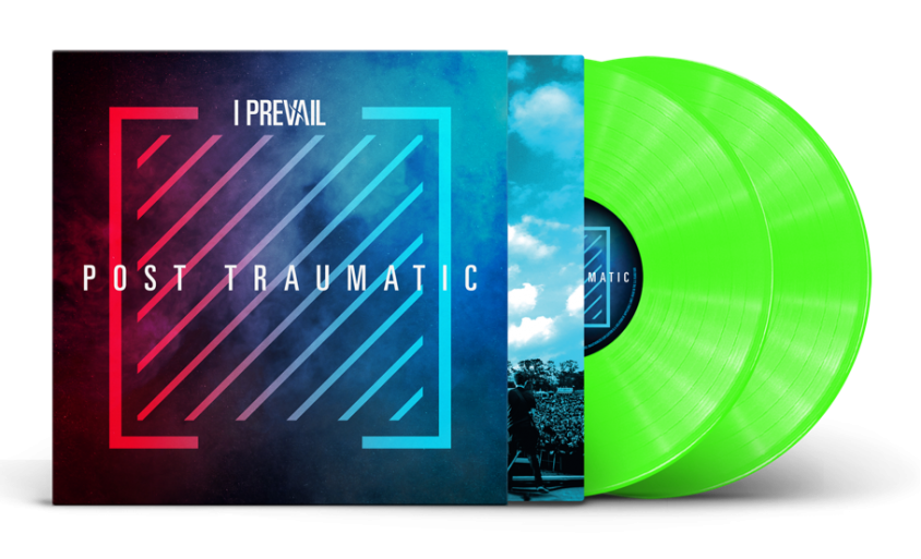I prevail vinyl product shot