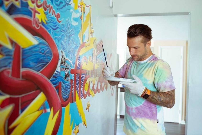 ETID Mural painting