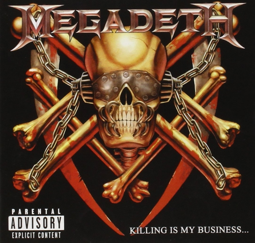 megadeth killing is my business reissue cover art