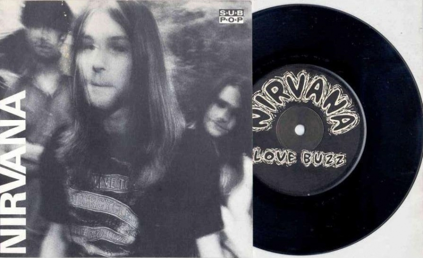 nirvana love buzz single 1988