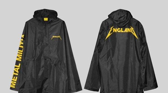 Metallica Raincoat, Selfridges