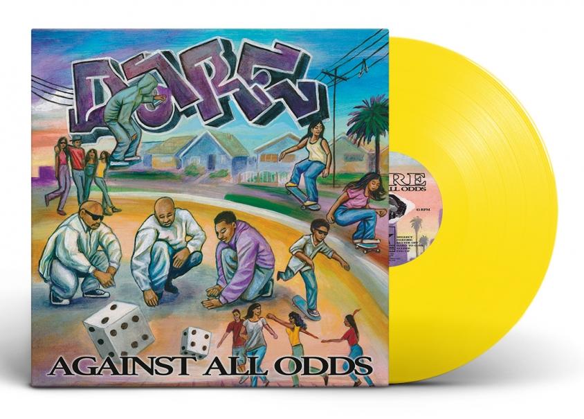 dare vinyl mockup