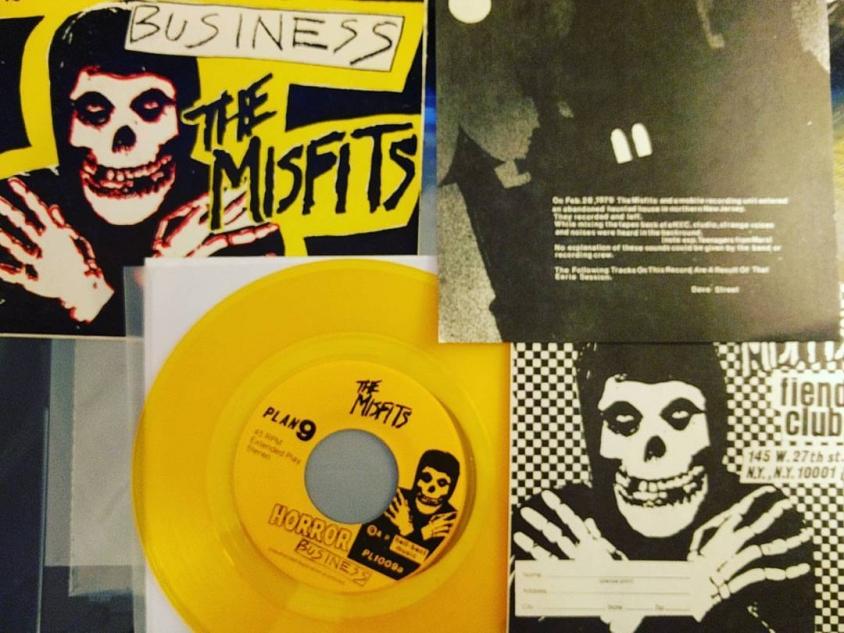 misfits yellow vinyl