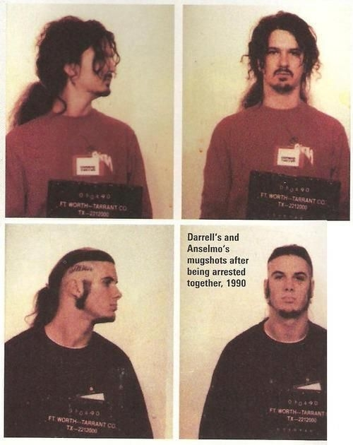 dimebag phil anselmo mug shots
