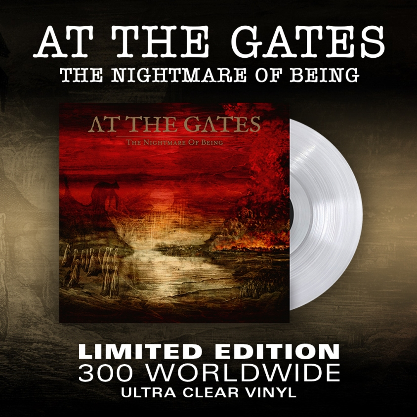 At the Gates Nightmare of Being Vinyl Admat