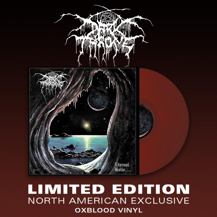 Darkthrone Eternal Hails 1018 x 1018 vinyl mockup