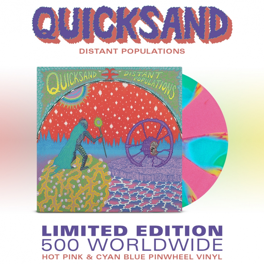 Quicksand Distant Populations 1018 x 1018 vinyl admat