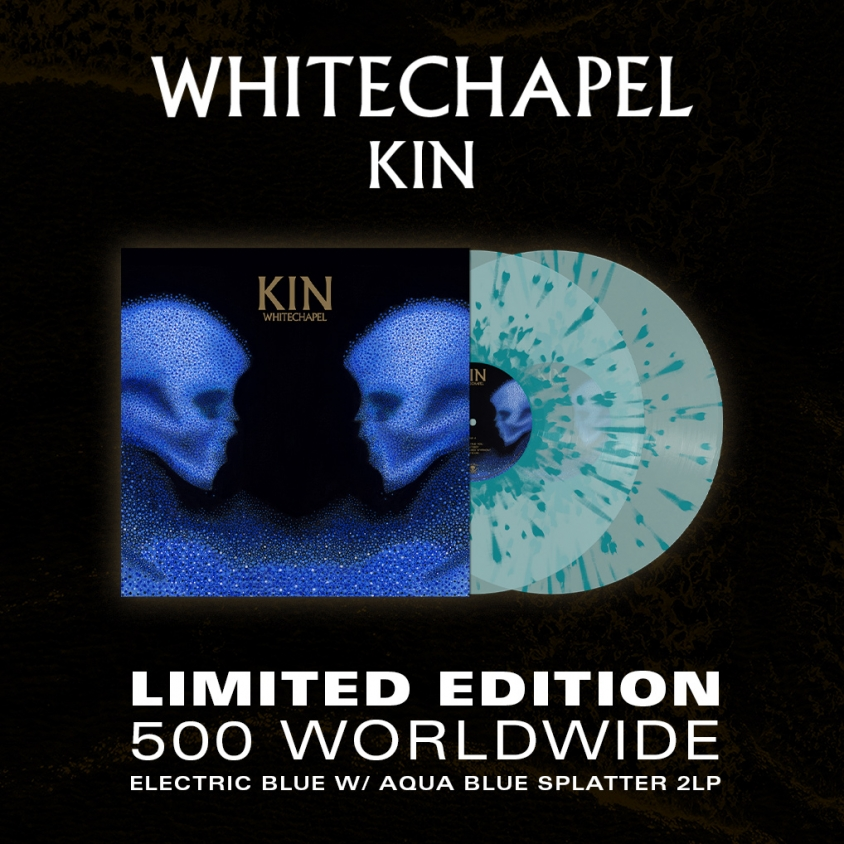 Whitechapel Kin vinyl admat