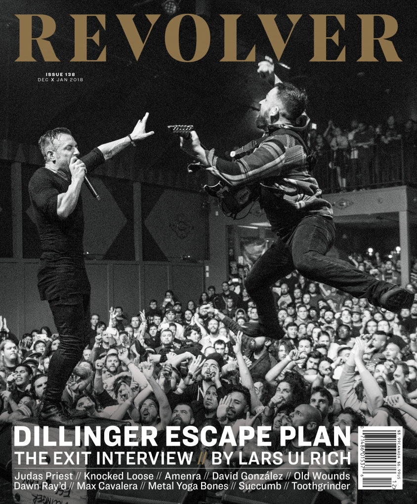 Dillinger Escape Plan cover 138