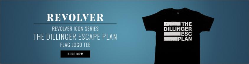Dillinger Escape Plan Flag Logo Tee ICON ad.jpg