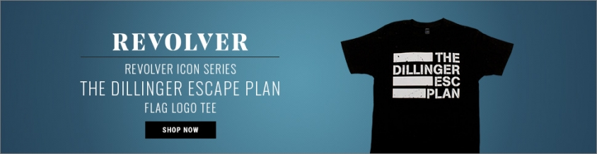 Dillinger Escape Plan Flag Logo Tee ICON ad.jpg