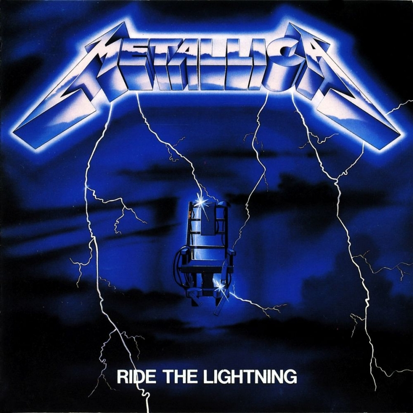 metallica ride the lightning cover art