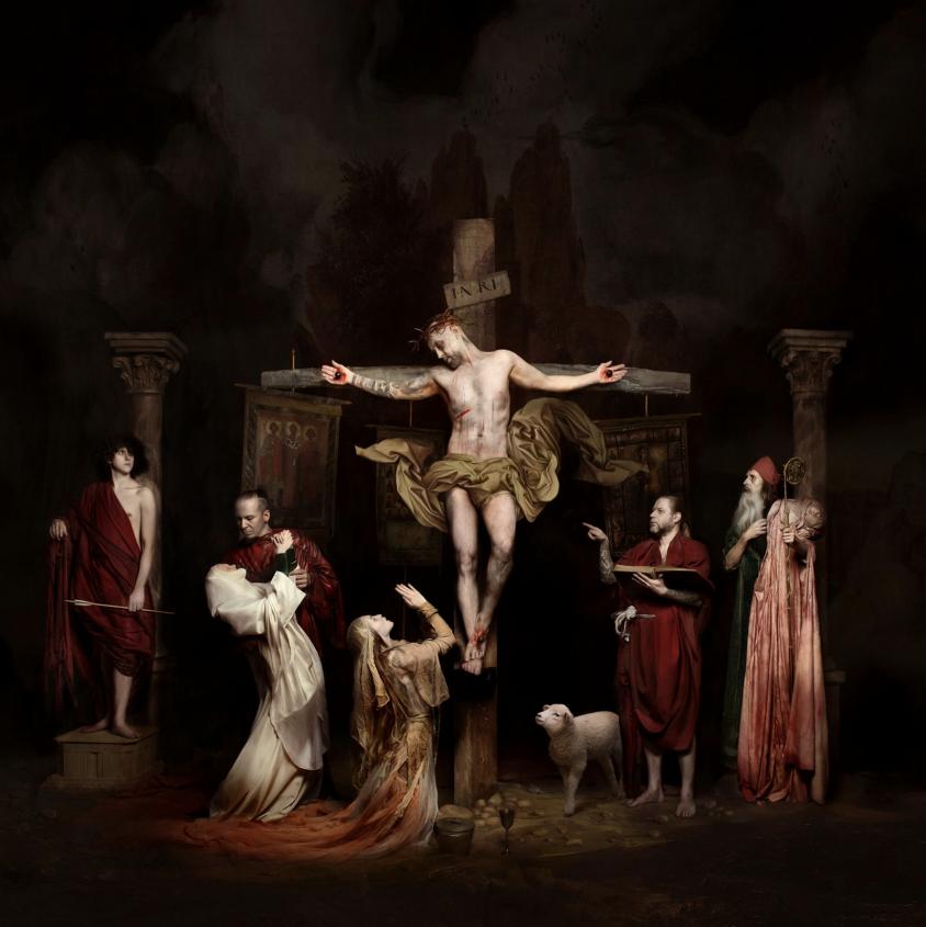 behemoth nergal crucifixion