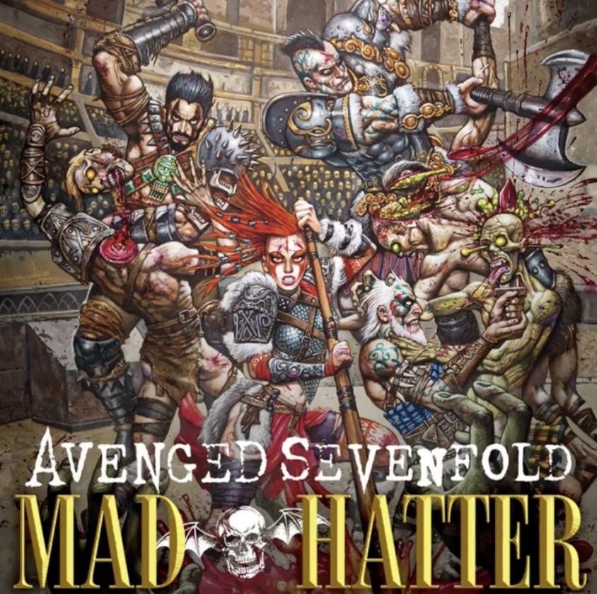 avenged mad hatter single art