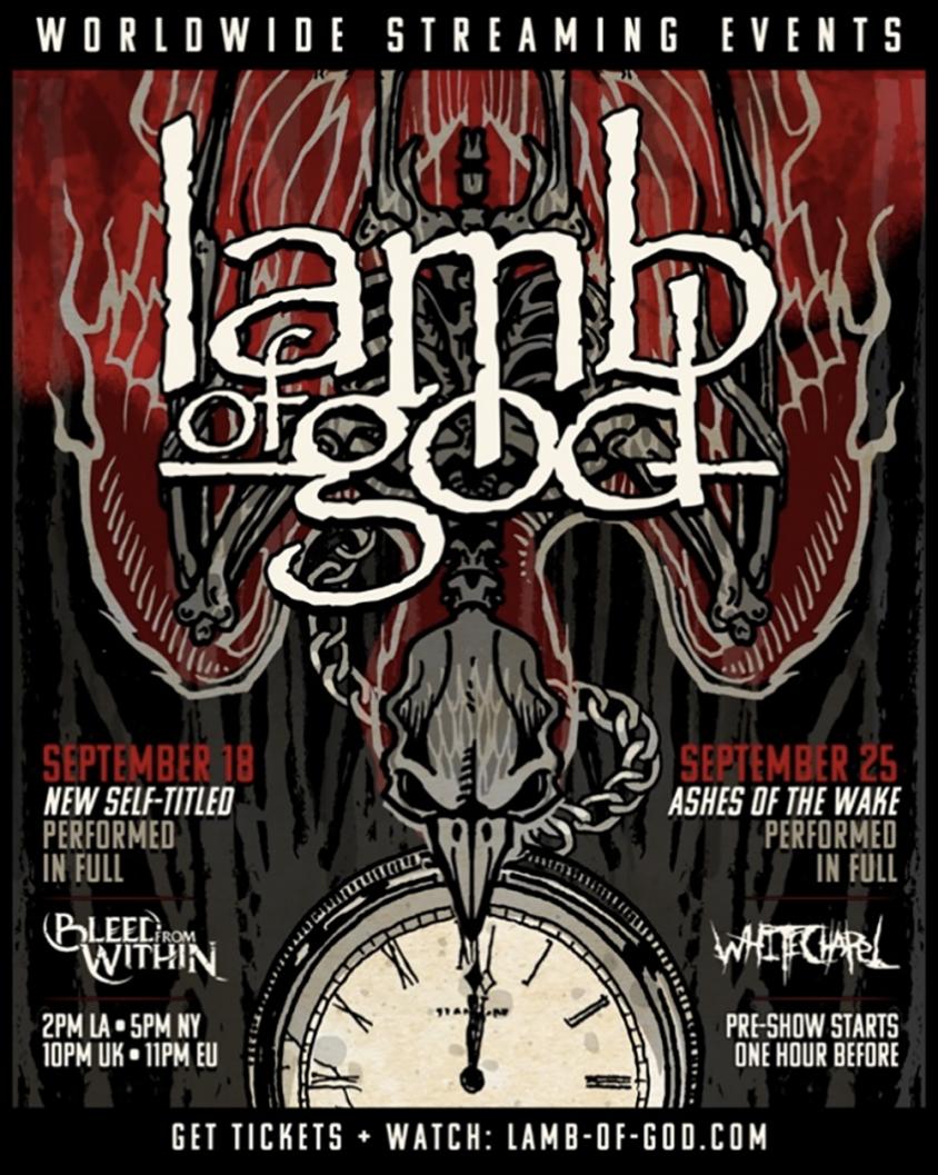 lamb of god livestream admat