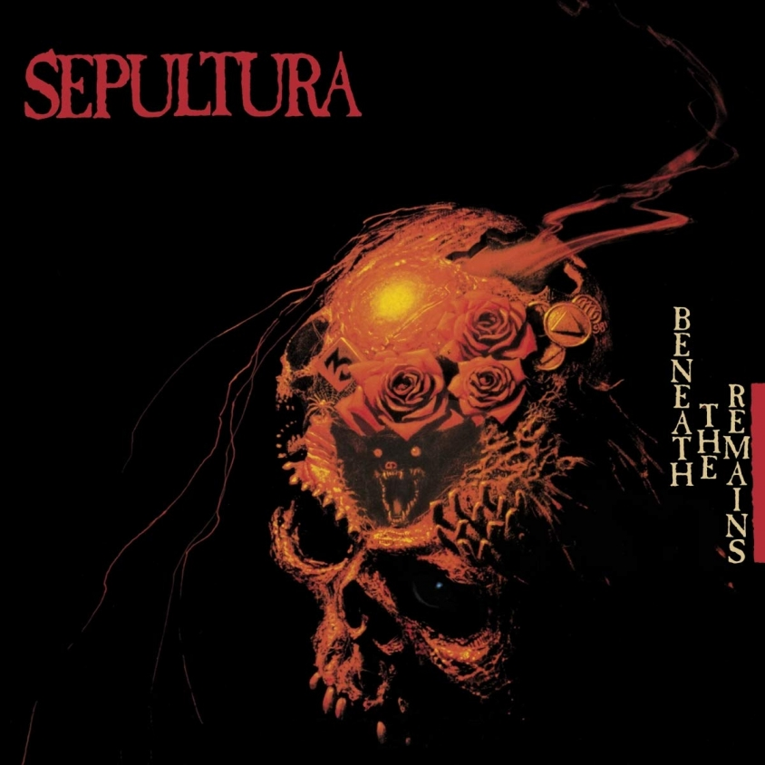 sepultura beneath the remains cover art
