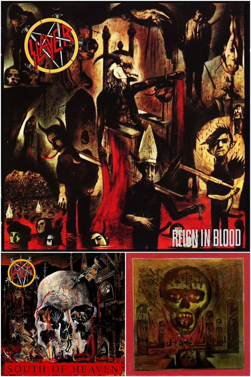 slayer trilogy covers